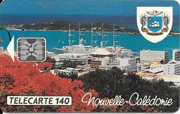 CARTE-PUCE-NOUV CALEDONIE-NC12-11/93-SC5- V° C3B100608-NOUMEA -VOILIER CLUB MEDITERRANEE-VIDE-LUXE - New Caledonia
