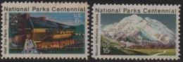 United States (USA) 1972 National Parks Centennial-Centenaire Parcs Nationaux (III) Vienna/McKinley ** - United States