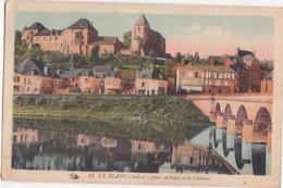CPA - 13. LE BLANC - Quai Aubépin Et Le Château - Le Blanc