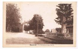 Masseret - Le Momument Aux Morts - Francia