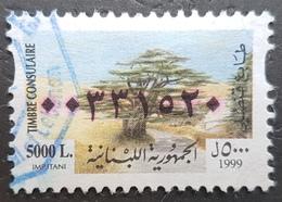 EI - Lebanon 1999 Consular Revenue Stamp 5000 Liras ! - Lebanon