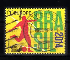 Belgie 2014 Mi Nr 4468, Voetbal WK Brazilie , Football - Belgique