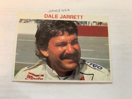 Dale Jarret Card - Car Racing - F1
