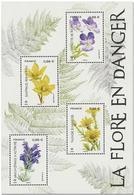 France - Bloc Feuillet Y&T N° F5322 - Feuille Série Nature De France (XXXIII). Flore En Danger (2019) - Neufs