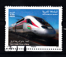 Trein , Train, Railway,  Eisenbahn: Marokko 2019 Mi Nr ??? - Treni