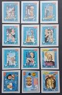 HC - Yemen Kingdom Imperforated MNH 12 Stamps - History Of Space Exploration - Yemen