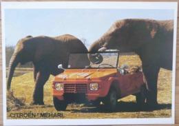AFFICHE PUBLICITE CITROEN MEHARI ELEPHANTS - Automobiles