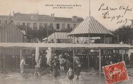 CPA  ROYAN  17 :Etablissement De Bains Pris à Marée Haute - Galeries Souchard  1907 - Royan