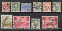 BURMA Selection Of Used Stamps - Some With Overprints - Burma (...-1947)