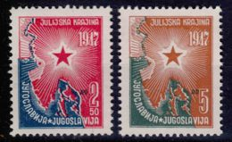 Yugoslavia Republic 1947 Mi#527-528 Mint Never Hinged - 1945-1992 Repubblica Socialista Federale Di Jugoslavia