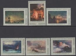 RUSSIE 1974 6 TP La Peinture Russe N° 4022 à 4027 Y&T Neuf ** - Ungebraucht