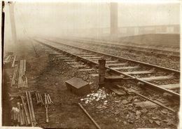 SEE BACK Train Railway Trein   16*12CM Fonds Victor FORBIN 1864-1947 - Trenes
