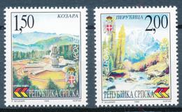 BOSNIEN-HERZEGOVINA / Serbische Republik - 1999 , EUROPA / CEPT - Natur- Und Nationalparks - 1999