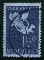 1½ + 1½ Ct Kinderzegel Child Welfare Kinder Enfant NVPH 289 (Mi 297) 1936 Gebruikt / Used NEDERLAND / NIEDERLANDE - Gebraucht