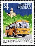 AUSTRIA 1982 - 75 ANIVERSARIO DEL PRIMER AUTOBUS POSTAL - YVERT Nº 1543** - Bussen