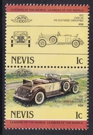 2 TIMBRES NEUFS DE NEVIS - AUTOMOBILE CADILLAC V16 FLEETWWOD CONVERTIBLE, 1932, U.S.A. N° Y&T 167/168 - Cars