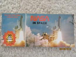 Carnet De 20 Cartes De NASA In Space - Historic Events - Astronautes & Fusée - Astronauts & Rocket  Conquête De L'espace - Cartes Postales