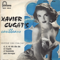 XAVIER CUGAT'S CARIBBEANS FRENCH EP SI, SI, MI CHA CHA CHA  + 3 - Musiche Del Mondo