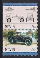 2 TIMBRES NEUFS DE NEVIS - AUTOMOBILE PACKARD TWIN SIX TOURING CAR, 1916, U.S.A. N° Y&T 169/170 - Cars