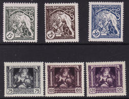Czechoslovakia. 1919. Independence - Unused Stamps