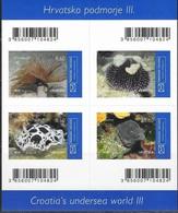 CROATIA, 2019, MNH, UNDERSEA WORLD, PART III, MARINE LIFE, EERLS, SEA URCHINS, SHEETLET - Fishes