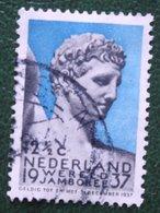 12½ Ct Wereld Jamboree Vogelenzang NVPH 295 (Mi 303) 1937 Gestempeld / USED NEDERLAND / NIEDERLANDE - Gebraucht