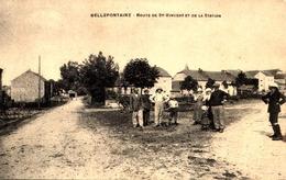 95] Val D'Oise > Autres Communes/ BELLEFONTAINE  ROUTE  DE ST VINCENT  ET DE LA STATION - France