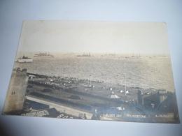 C.P.A.- Carte Photo - Royaume Uni - Angleterre - Folkestone - Fleet Off - 1920 - SUP (BU 95) - Folkestone