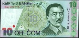 KYRGYZSTAN - 10 Som 1997 {Kyrgyz Banky} UNC P.14 - Kyrgyzstan