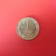 1 Peso Münze Aus Chile Von 1990 (vorzüglich) - Chile