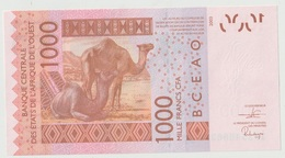 Billet De 1000 Francs CFA XOF Non Circulé Afrique De L'Ouest Origine Cote D'Ivoire - Côte D'Ivoire