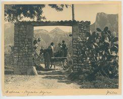 """Foto 109 Spanien - """"Mallorca - Aspecto Aipier"""" Okt. 1934 Format Ca. 15 X 20 Cm. - Places"""