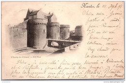 44 NANTES - L'entrée Du Chateau - Nantes