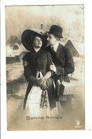 CPA - Carte Postale Belgique-Bonne Année - Avec Un Couple -1912 VM3931 - Nieuwjaar