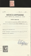 J) 1856 MEXICO, HIDALGO, 4 REALES RED, TIXTLA GUERRERO, MEPSI CERTIFICATED, ONLY 780 ISSUED, MN - Mexico