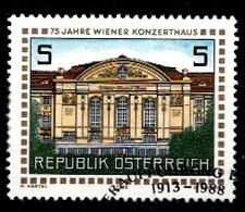 Autriche 1988 Mi.Nr: 1937 Wiener Konzerthaus  Oblitèré / Used / Gebruikt - 1945-.... 2ème République