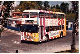 35mm ORIGINAL BUS PHOTO ALDER VALLEY SOUTHEAST HAMPSHIRE - DOUBLE DECKER - F005 - Photographs