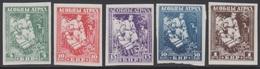 RUSSIE 1920 5 TP Ruthénie Blanche N° 1 à 5 Y&T Neuf Sans Gomme - Russia & URSS