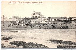 44 PREFAILLES - La Plage A L'heure Du Bain A'… - Préfailles