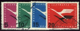 Germany. Sc #C61-C64. Airmail. Used. - [7] Federal Republic