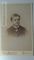 D164629 CDV Cabinet Photo  Aug. Striepling Hameln A/W   - Ca 1890-1900 - Young Man's Photo - Fotos