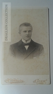 D164630 CDV Cabinet Photo  H.Blesius Hameln A/W   - Ca 1890-1900 - Young Man's Photo - Fotos