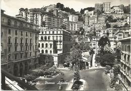 W3596 Napoli - Piazza Amedeo / Viaggiata 1960 - Napoli