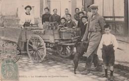 ***  91  ***  CORBEIL  La Marchande De Quatre Saisons AUTHENTIQUE Excellent état - Corbeil Essonnes