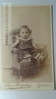D164632 CDV Cabinet Photo  August Striepling, Hameln A/W   - Ca 1890-1900 - Child -  Costume Fashion - Fotos