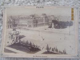 Photographie Circa 1890 - PARIS : Le Nouveau Louvre - Lieux