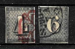 471 - SUISSE - SWITZERLAND - 1843 -  ZURICH - CANCELLED - FALSCHEN, FORGERIES, FAUX FAKES - Stamps