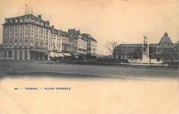 Tournai   Place Crombez     Doornik    I 6236 - Tournai
