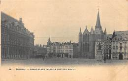Tournai   Grand'place  Vers La Rue Des Maux     Doornik    I 6237 - Tournai