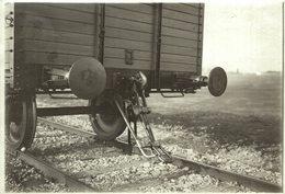 PHOTO BUCURESTI / Bucarest, Romania / Roumanie CHEMIN DE FER Train Railway 18*13CM Fonds Victor FORBIN 1864-1947 - Trenes